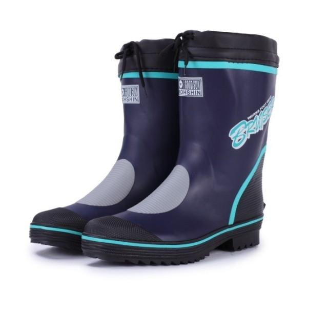 2014 European Big Size Fashion rubber Men rain boots slip-resistant water shoes(China (Mainland))