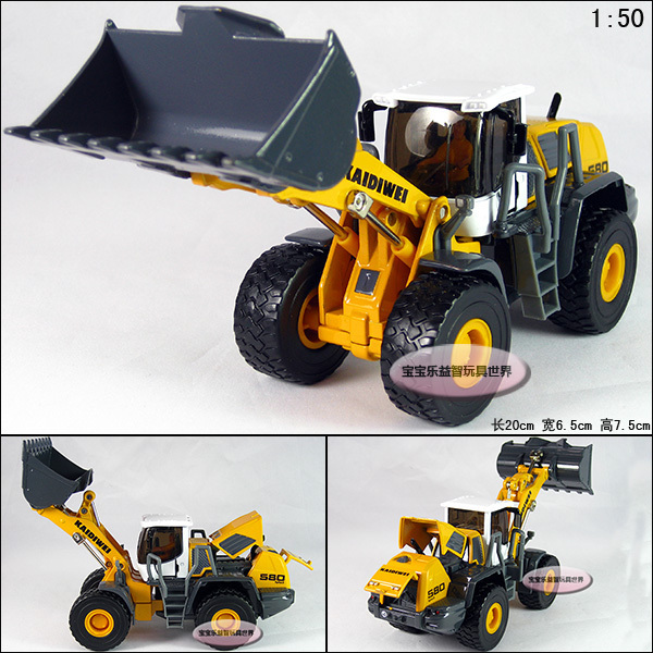 Free shipping hot sale 20cm Full alloy engineering car leviathans forkfuls exquisite car alloy car model 1 pc a lot(China (Mainland))