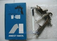 Original imported from japan Anest Iwata manual paint spray gun W-400 for car furniture metal