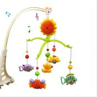 Baby Toys for 0-12 Months Hand Bed Crib Musical Hanging Rotate Bell Ring Rattle Mobile