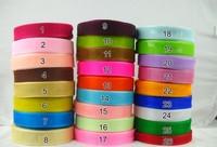 10rolls/lot 50yard/roll 20mm Organza Wedding Sash ribbon DIY Craft Ribbons party Holiday Decoration Christmas Caks Packing Spool