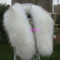 Free shipping Winter fox fur collar faux fur raccoon fur collar cap of son false collar muffler scarf