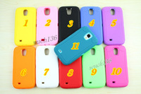 Color Robots 3in1 silicone case PC+TPU Combo protective shockproof case for samsung Galaxy S4,100pcs/lot Free shipping