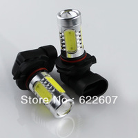 2pcs LED 9005 7.5W lamp Car 9005 dipped headlight bulb fog large power LED bulb lamps 7.5 W
