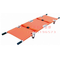 portable High quality aluminum alloy folding stretcher medical first-aid stretcher simple stretcher ambulance stretcher