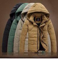 Free Shipping, Men, coat, cotton, winter, short, jackets, Europe outwear