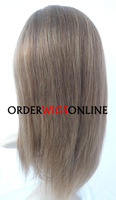 AFFORDABLE FULL LACE WIGS ON SALE 100% INDIAN REMY HAIR YAKI STRAIGHT 18INCH COLOR 6/27# HIGHLIGHT FREE SHIPPING