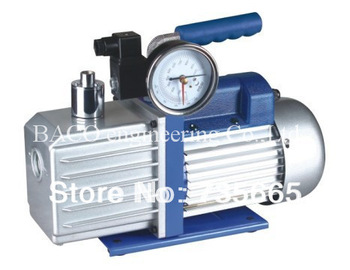 With Precision Guage Portable Single stage 3 CFM oil vaccum pump special for packaging with 1/4 hp