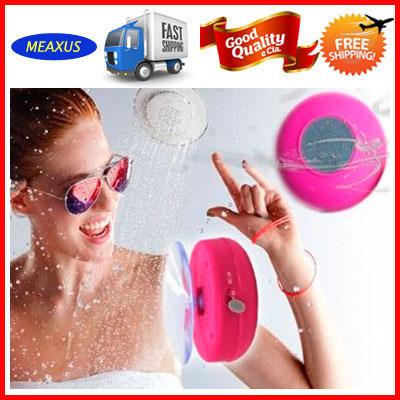 500 Pcs A LOT Wholesale bluetooth waterproof speaker with beautiful box(China (Mainland))