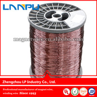 0.25mm professional aluminum winding round wire made in china use for transformer