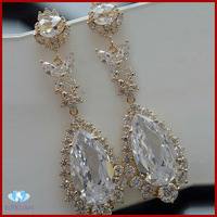 new fashion high quality zircon earrings