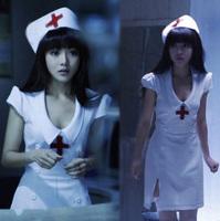 Women's underwear fun set the temptation of uniforms sexy nurse suit hat thong supplies 1026