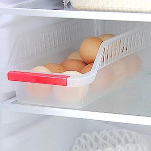 2013 Frigorífico caixa de armazenamento gaveta cesta de armazenamento de plástico para alimentos recorte E836(China (Mainland))