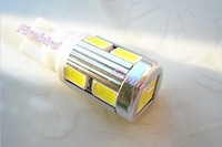 2 x w5w / T10 10SMD 5W power led bulb, white color clearance lights, parking lights,  free shipping