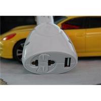 Free Dop Shipping Car charger head h-caz02 car power converter  cargador de coche