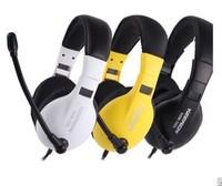 Free Shipping Gaming Headphones Kdm-1003 on ear earphones with mic laptop game earphones headset fond de ouvido