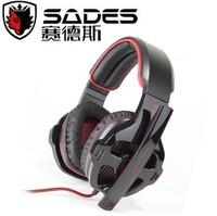 Free Shipping WCG Gaming Headphones Sades sa 903 gaming headset bass usb computer earphones 7.1 audio fone de ouvido for pc