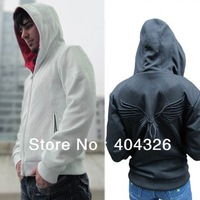 Autumn&Winter Assassin's Creed III 3 Desmond Miles Hoodie Jacket Top Coat Costume Cosplay Black Hawk Plus Size