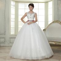 Princess luxury slit neckline sweet lace diamond slim autumn and winter