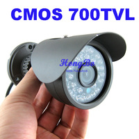 "4pcs/lot, New Arrival, 1/4"" CMOS 700TVL 960H 30led IR Day/night outdoor/indoor waterproof CCTV Camera with bracket"