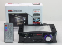 Hi-fi amplifier t-300 card small amplifier radio sd usb flash drive mp3 car player  free shipping