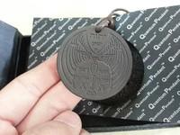 1pcs Flyman Quamtum Pendants  Fly Man Scalar Energy Pendants Necklaces with Registration Card