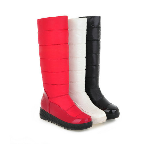 New hot arrival fashion waterproof snow boots soft mid calf warm women's boots Boot Wedding Snow Boots size 34-43(China (Mainland))