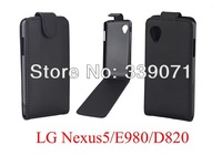 For LG Nexus 5 Case,Filp Leather Case For LG Nexus 5 With Screen Protector,High quality,Free Shipping