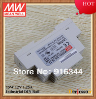 mean well 15w 12v DIN rail power supply DR-15-12