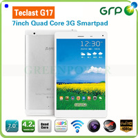 Support Phone Call Quad Core Tablet Pc With Sim Card Slot 7 Inch Teclast G17 IPS Screen 1GB 8GB Android 4.2 Free Shipping