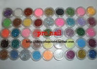 Free shipping Nail art tools laser glitter dry finely-pulverized ultrafine powder laser 45 set