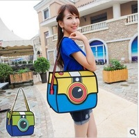 Free Shipping Cartoons 3d Shoulder Bag Messenger Bag Women's Handbag