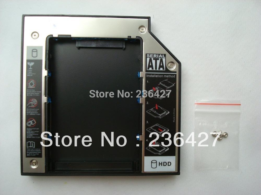 """12.7mm 2.5"""" SATA 2nd HDD Caddy Bay for HP Pavilion DV4 DV5 DV7 G60 G61 G70 G71 CQ50 CQ60(China (Mainland))"""