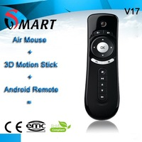 3d motion stick wireless air mouse/rc12 air mouse/keyboard and air fly mouse android remote for samsung smart tv