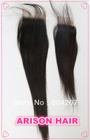 120% Brizilian Virgin Hair Remy Straight Lace Closure Size 3.5*4 About all Length 10 12 14 16 18 20 inch Popular Sell