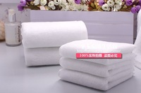 100% cotton white towel 100% cotton small towel squareinto waste-absorbing thickening linen supplies