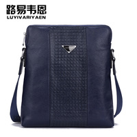 100% Leather Man bag hot selling male messenger bag casual male backpack genuine leather bag