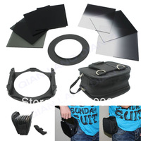 100% GUARANTEE ND2/ND4/ND8 + Graduated ND 2 4 8 filter + 67mm ring Adapter + Filter wallet Case Bag set for cokin p