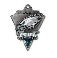Free shipping NFL anti-silver single-sided Philadelphia Eagles charms