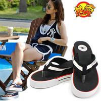 2013 flip flops slippers female sandals summer platform sandals