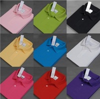 Latest Version Crocodile Brand LOGO Free Shipping Fashion Men Clothing POLO Shirt Simple Men Long Sleeve / 12 Colors Asia M-XXXL