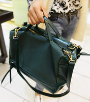 2013 autumn and winter women's handbag fashion tassel nubuck leather motorcycle messenger bag vintage handbag