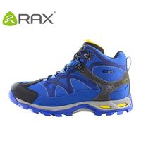 Double rax waterproof hiking shoes male outdoor shoes slip-resistant wear-resistant ultra-light shock absorption walking shoes