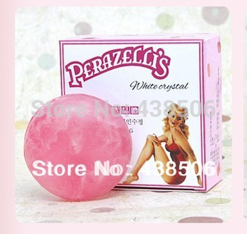 Pink nipple Natural active enzyme crystal soap   private part labia perineum pink Dilute the areola labia Removing melanin