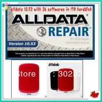 2014 ALLDATA 10.53 + 2013 Mitchell +ELSA+BOSS ESI+ INSTACODE 2008+1TB usb 3.0 harddisk With 26 software in it