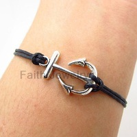 Christmas gift 2013 fashion bracelet wax cord kitten accoutering bracelet fb320
