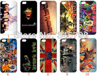 The latest design!! wholesale 10PCS/LOT(10style)  Iron Maiden white  hard case back cover for iPhone5 5th 5S+free shipping