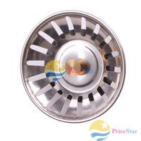 [Super Deals] Kitchen Stainless Steel Sink Strainer Waste Disposer Plug Drain Stopper Filter wholesale