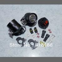 1set Moto LED Work Spot Light 12W 9000 Lumen 1*Cree XML T6 4T6 LED Motorcycle Driving Light 12V-16VDC
