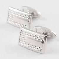 Platinum cufflinks slitless cufflinks french style shirt cufflinks nail sleeve button male cufflinks 930011